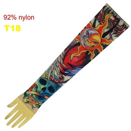 Wholesale Top Fancy Tattoo Stripe Sleeves Arm Dress Sleeve Great Tattoo Design For Men amp Women T18 ML010