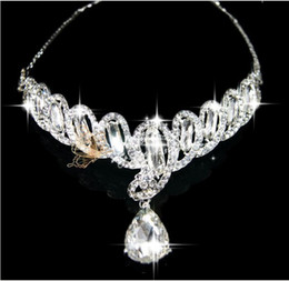 Wholesale Gorgeous Diamond Bridal Headdress Bridal Tiaras Wedding Bridal Accessories Tiaras amp Hair Accessories
