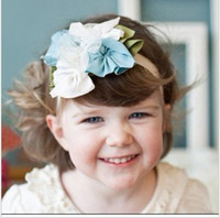 Blending babys accessories - Band HEADBAND BABY girls hair ornaments babys flower Headbands Childrens Hair Accessories
