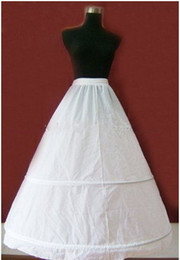 Wholesale A Line Wedding Dress Petticoat Crinoline Dress Bridal Underskirt For Quinceanera Prom Dresses