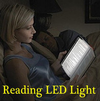 Yes Dry Battery  LED night book reading light panel lightwedge paperback light one the page FREE SHIPPING