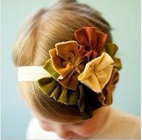 Headbands autumn bouquets - Autumn Bouquet HEADBAND hat cap hair band head wrap Baby Girl s Headband Baby Girl s Hairband free