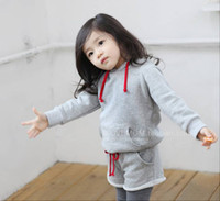 Girl sport clothing wholesale - 1 Year Autumn Spring Children Clothing Baby s Clothes Girl Sport Clothes Set Hoodies Shorts Suits
