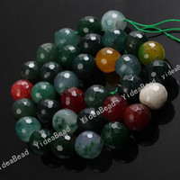 Agate agate - 74 Colorful Round Agate Jade Fire Beads mm Loose Beads Have in Stock Fit Bracelets DIY