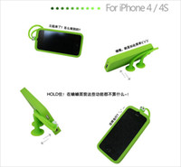 Wholesale Multifunction Case Grasshopper Silicone Case Cover for Cell Phone g s Iphone4s