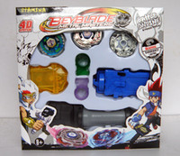 Wholesale D Metal BEYBLADE TOPS Beyblade spin top toy styles colors mixed carton