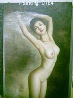 Wholesale Nude oil painting women nude oil paintings discount oil paintings bedroom decoration