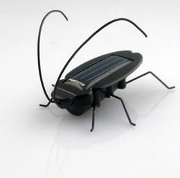 Solar Power Energy Cockroach Fun Gadget Office School Dropshipping 10pcs