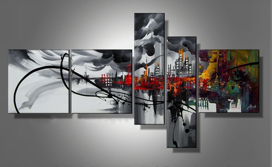 Pop Art Modern Abstract Oil