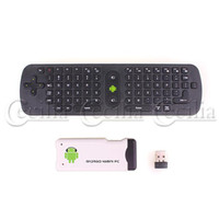 book box - RC11 air mouse keyboard G wireless for PC ANDROID tv box smart tv note book RC black airmail