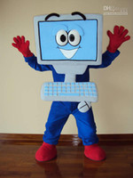Disney's athletic sh - HOT SALE LAPTOP COMPUTER MASCOT COSTUMES CHARACTER Halloween Party Fancy Dress Adult Size FREE SH