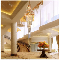 Wholesale brand quality step design K9material crystal ball pendant crystal chandelier