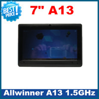 Wholesale 4PCS Thinner A13 Allwinner GHz GB Capacitive Android Tablet PC Cortex A8 Usb G WiFi Webcam