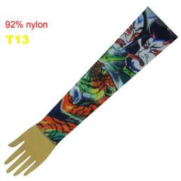 Wholesale Top Fancy Tattoo Stripe Sleeves Arm Dress Sleeve Great Tattoo Design For Men amp Women T13 ML007