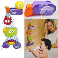 bath waterfall toy - 2012 New hot sale Baby bath goods bath toy bathroom waterfall toy water toy Lovely style FREE SH