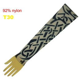 Wholesale Pop Fancy Tattoo Stripe Sleeves Arm Dress Sleeve Great Tattoo Design For Men amp Women T30 ML