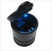 Wholesale Car ashtray portable LED lights Car ashtray LED lights portable high flame retardant the pbt materia