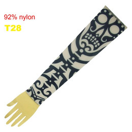 Wholesale Pop Fancy Tattoo Stripe Sleeves Arm Dress Sleeve Great Tattoo Design For Men amp Women T28 ML