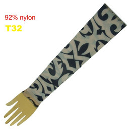 Wholesale Pop Fancy Tattoo Stripe Sleeves Arm Dress Sleeve Great Tattoo Design For Men amp Women T32 ML