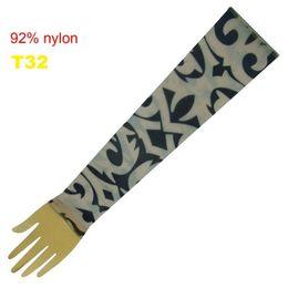 Wholesale Pop Fancy Tattoo Stripe Sleeves Arm Dress Sleeve Great Tattoo Design For Men amp Women T32 ML