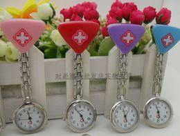 100PCS Nurse Medical Metals Rope Quartz Colorful Candy Color Watch Ladies women Women's Watche