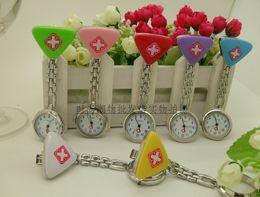 50PCS Nurse Medical Metals Rope Quartz Style Decoration Nurse Pocket Watch Luxury Women's Watches