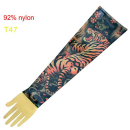 Wholesale Super Fancy Tattoo Stripe Sleeves Arm Dress Sleeve Great Tattoo Design For Men amp Women T47 ML