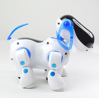 Wholesale i ROBOT Robotic Robo Pet Dog Walking Bump n Go Puppy Kids Girl Boy Toy Children