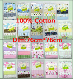 Wholesale Baby Flannel Receiving Blankets Just Born circo Summer Air Conditioning blanket inch Newborn