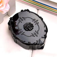 Wholesale 12X New Fashion Rose Contact Lenses Case Girl Contact Lens Box Gift Drop Ship