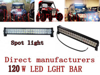Wholesale 21inch Top quality V W LED light bar Spot Beam Offroad WD X4 JEEP SUV ATV UTE TRUCK Motor