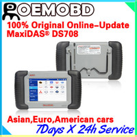 Wholesale Autel MaxiDas DS708 Automotive Diagnostic Analysis System OBD EOBD Scanner For EU US Aisian Vehicles