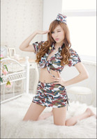 Nylon camouflage lingerie - Supply of the world s lowest price Sexy lingerie Underwear Lingeries Net Yarn Skirt Camouflage