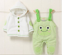 Boy/Girl baby panda suit - Baby girl boy suit jacket suspender trousers animal styles panda frog monkey Baby s Clothes Set