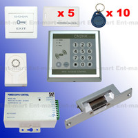 Wholesale RFID Access Control DIY Full Kit Set Electric Strike Door Lock NC Fail Safe