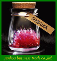 Wholesale Flash Wishing Bottle DIY LED Light Growing Crystal Powder Colorful