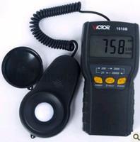 Wholesale Digital Lux Meter Photometer Luxmeter LCD Light Meter Lux vc1010B adigital photometer
