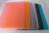 Wholesale 1PCS Matt Rubberized Translucent Hard Case Cover Pouch for inch macbookpro Aluminum Unibody
