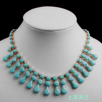 Wholesale Fashion Gemstone Necklace Hotsale Designer Jewellery Mixed Colors