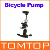 Wholesale Mini Cycling Bicycle Pump Bike Air Stick pump Presta Schrader with Gauge barometer H8619