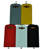 Wholesale 100pcs New Verticle Volleyball Ball Leather Flip Case Cover Skin For Samsung Galaxy S3 SIII i9300