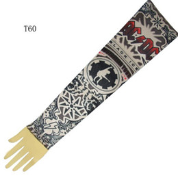 Wholesale Top Fancy Tattoo Stripe Sleeves Arm Dress Sleeve Great Tattoo Design For Men amp Women T60 ML