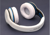 Wholesale YJ Free DHL Wired SMS street by cent can noise reduction with Mic trend headset SMS Audio