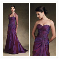 Cheap Reference Images Mother Of The Bride Best Sweetheart Taffeta Wedding Party Dresses