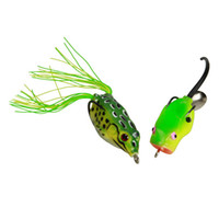 Wholesale Bass Frog Fishing Lure Bait Hook Fishing Tackle New Ship From USA