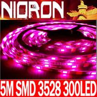 Wholesale 7 colors opitons M reel LED Light Strip IP55 waterproof SMD LED Flexible Light StripS LED
