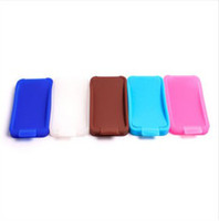 Wholesale Silica Gel Double sided Box Case For Iphone4S G General Phone Cover