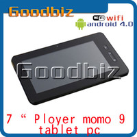 Wholesale 7 inch ployer Momo Capacitive Screen AllWinner A13 Ghz Android Camera GB Tablet PC