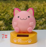 Wholesale Car interior accessories furnishing articles doll Plutus cat auto supplies pink round cat