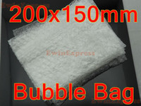 Wholesale Bubble cushioned mailer air bubble bag Bubble Pouches Cushioning Wrap Bags x150mm